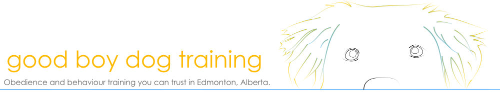 Good Boy Dog Training Edmonton Logo