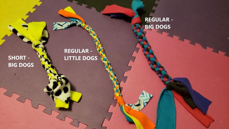 Fleece Tug Toys - Examples